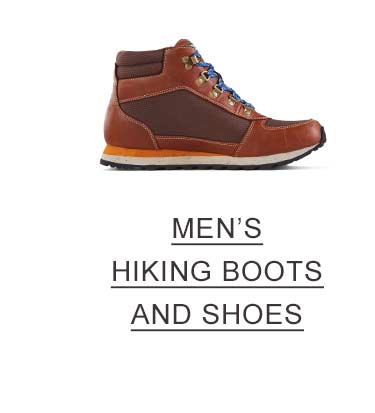 Men's Hiking Boots and Shoes