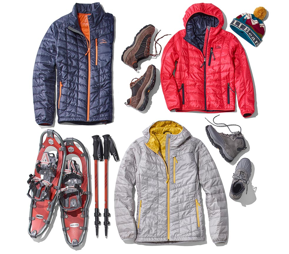 assortment of winter wonder products.