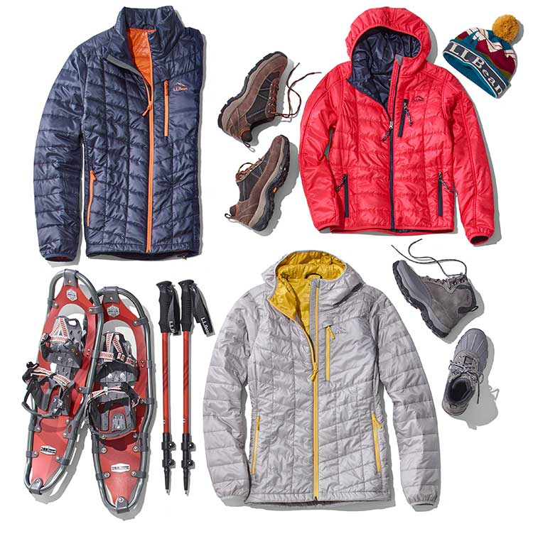 collection of winter wonder products.