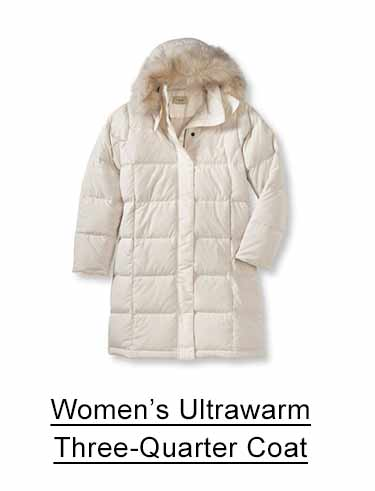 Women's Ultrawarm Three-Quarter Coat.