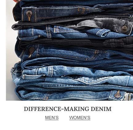 Difference-Making Denim.