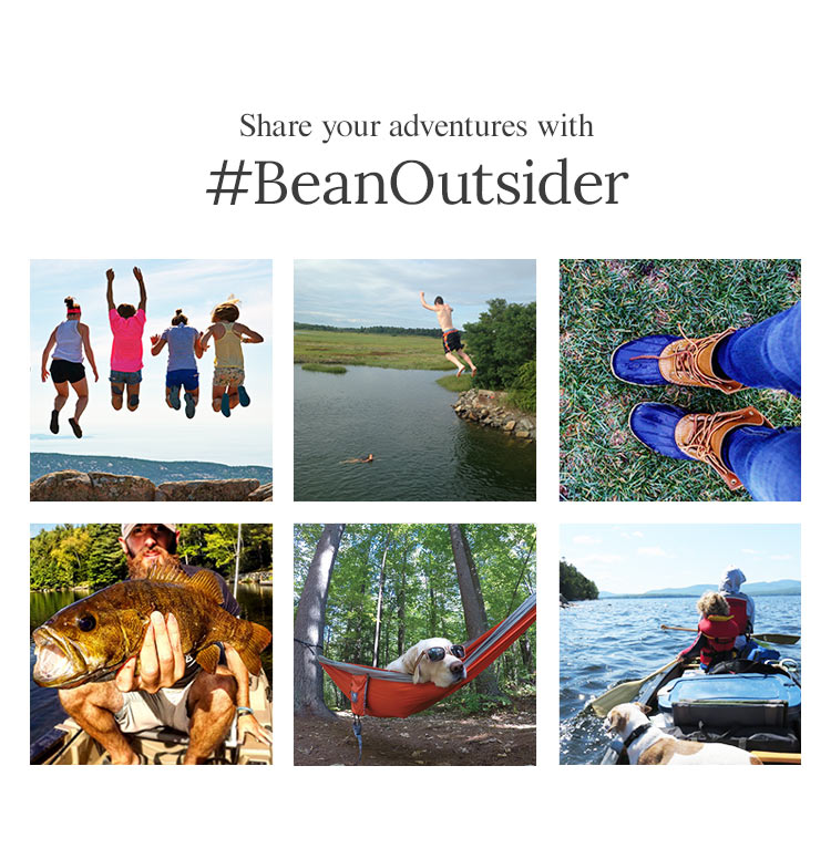 Share Your Adventures with #BeanOutsider'