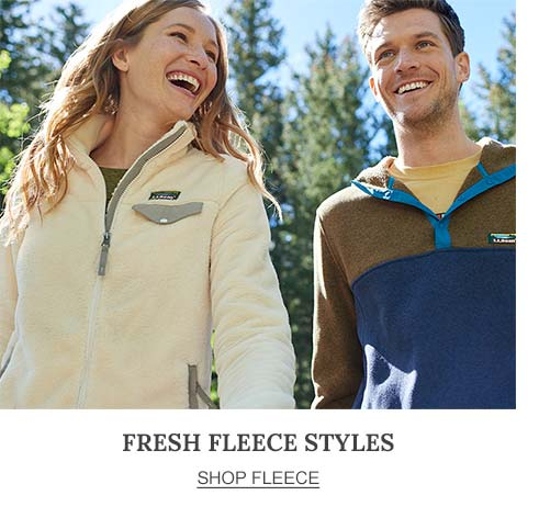 Fresh Fleece Styles